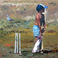 Beach Cricketer