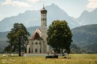 Church in Bavarian Alps