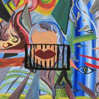 Nightmare (see full title below) by Sharkie Stiles Art Prints & Posters by Lamp Arts Program