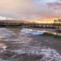 """Redondo Pier, Redondo Beach, CA"" by markeloperphotography"