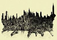 New York City 78 - Ink Drawing