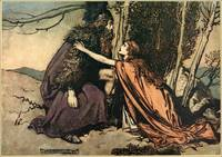 Arthur Rackham  - WAGNER'S RING CYCLE The Valkyrie