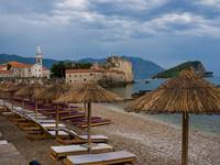 Storm Clouds Over Budva