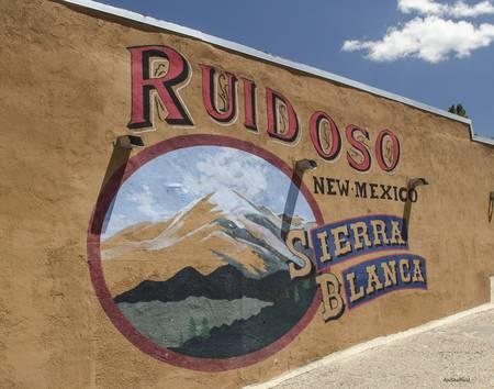 Ruidoso New Mexico Sign