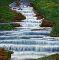 Waterfall Painting 2016