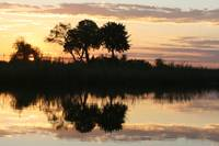 Namibia River Sunset jpg