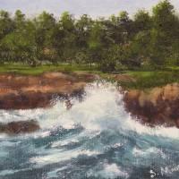 Sea Splash by Sandy Mauck