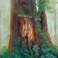 At the Foot of a Giant by Sandy Mauck