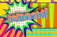 Kaboom Pop Art Explosion