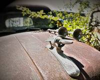 Ford 56 Hood Ornament HDR