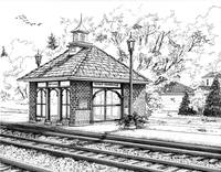 West Hinsdale Train Station