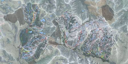 Cottonwood Canyons Resorts Trail Map