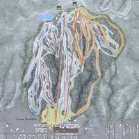 Snow Summit Resort Trail Map