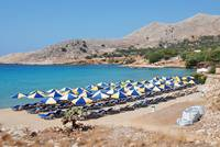 Pondamos beach, Halki