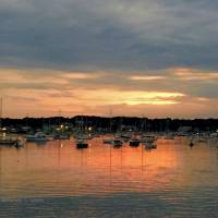 Evening Harbor Art Prints & Posters by Patricia Wilson