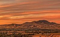 Sunset Over Squaw Butte