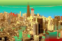 Chicago Colors - Digital Artwork