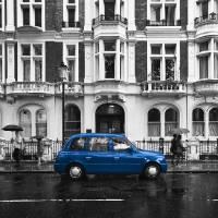 London Blue Art Prints & Posters by Unai Ileaña