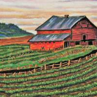 The Barn Art Prints & Posters by Laura Lee Art