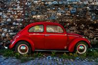 Red Volkswagen Beetle