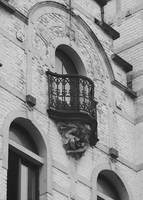 Balcony Support Black and White by Carol Groenen