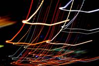 Abstract Squiggles-Tail Lights