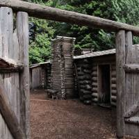 Fort Clatsop Lewis and Clark  115 by Richard Thomas