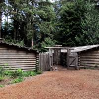 Fort Clatsop Lewis and Clark 114 by Richard Thomas