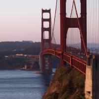 Golden Gate Bridge San Francisco 002 by Richard Thomas