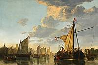 Cuyp - Maas at Dordrecht 1652 (2) (Copy)