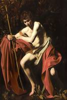 Caravaggio - John the Baptist in the Wilderness (C