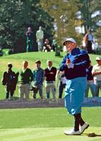 Golfer Billy Casper