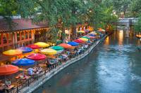 San Antonio Colorful Riverwalk