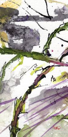 Abstract Modern Organic Watercolor and Ink 5