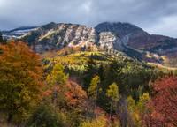 Alpine Loop Autumn Vista by David Kocherhans