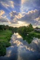 Heavenly Reflections on Cibolo Creek