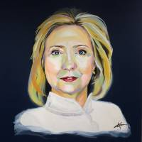 Hillary Clinton Art Prints & Posters by Karen Jones
