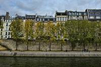 Autumn Along the Seine in Paris