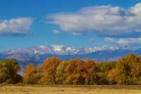 Rocky Mountain Front Range Colorful View
