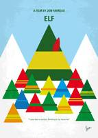 No699 My ELF minimal movie poster