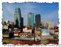 Kansas City's Central Business District looking fr