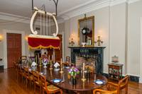 Oak Alley Mansion Dinning Room
