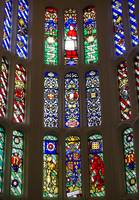 London UK Hampton Court Palace Stained Glass