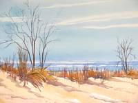 Winter Beach by KIM KLOECKER