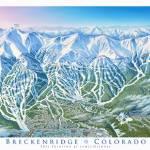 """""""Breckenridge Colorado"""" by jamesniehuesmaps"""
