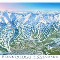 """Breckenridge Colorado"" by jamesniehuesmaps"