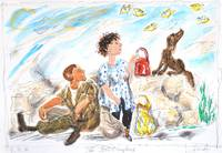 The ButterfliesJewish art, surreal jewish humour,