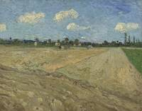 Ploughed Fields ('The Furrows') Arles, September 1