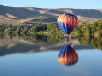 Balloon Touchdown by Carol Groenen
