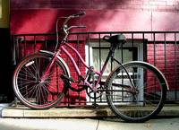 Red Wall & Bike